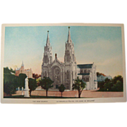 1915-1930's The New Church Sainte Anne de Beaupre Canada NOS Postcard