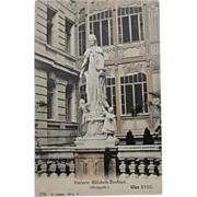 Kaiserin Elisabeth-Denfinal Vienna Austria Vintage NOS New Old Stock Postcard