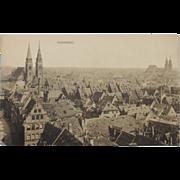 Nurnberg Nuremberg Germany Old Vintage NOS New Old Stock City Postcard