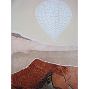 Lin Carte Anderson (1942-2012) Original Limited Edition Signed Intaglio Print Free Spirit II 1978