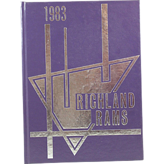 Richland Rams 1983 Texas Yearbook Junior High School