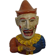The Book of Knowledge Cast Iron Clown Bank