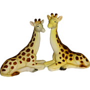 Relco Spotted Giraffes Salt and Pepper Shakers