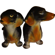 Relco Dachshund Dogs Salt & Pepper Shakers