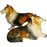 Relco Collie Dogs Salt and Pepper Shakers