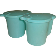 Vintage Tupperware Sugar or Creamer Containers