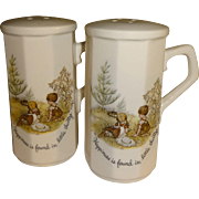 Holly Hobbie Salt and Pepper Shakers