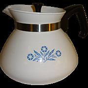 Corning Ware 6 Cup Cornflower Teapot