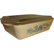 Pyrex Homestead Refrigerator Dish and Glass Lid