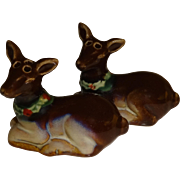 Mini Christmas Deers Salt and Pepper Shakers