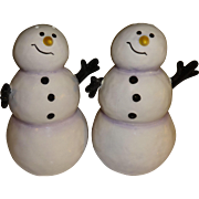 Dept 56 Smiling Snowmen Salt and Pepper Shakers