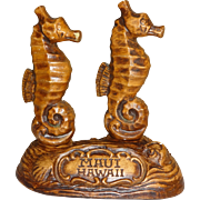 Treasure Craft Sea Horses Salt and Pepper Shakers