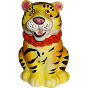 Single Circus Tiger Salt or Pepper Shaker