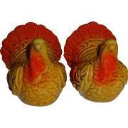 Mini Thanksgiving Turkey Salt and Pepper Shakers