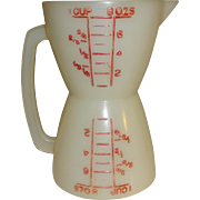 Tupperware Double Measure Cups for Dry and Liquid