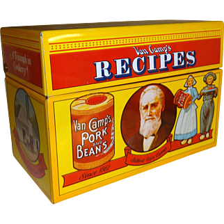 Van Camp's Pork and Bean's Limited Edition Recipe Box