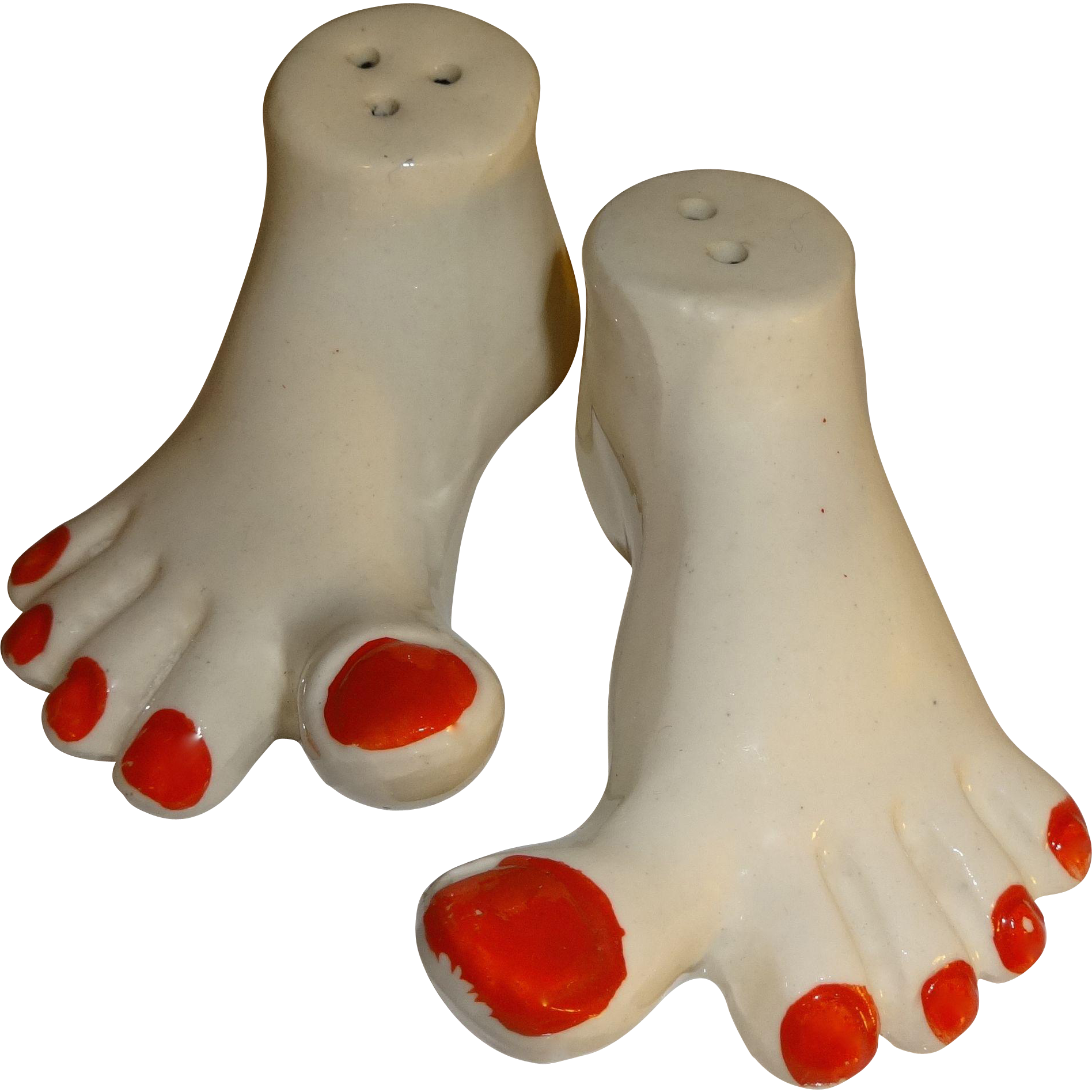 Funny Feet Salt And Pepper Shakers Made In Japan From
