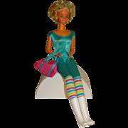 Mattel Twist-n-Turn Tall Barbie Doll 1966 in Jumpsuit