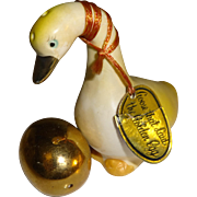Goose with the Golden Egg Salt and Pepper Shakers - Japan