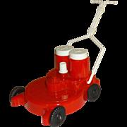 Plastic Push Lawnmower Salt and Pepper Shakers