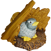 Franklin Mint Woodland Surprises Bluebird Figurine