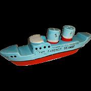 Vintage Ship/Boat/Ocean Liner Salt and Pepper Shakers