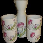 Five Piece Porcelain Soki Tea Set - Made in Japan