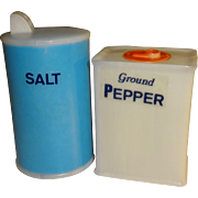 Plastic Salt and Pepper Boxes Salt and Pepper Shakers