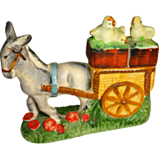 Donkey Cart & Chicks Salt and Pepper Shakers
