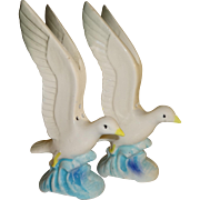 Flying Sea Gulls Salt and Pepper Shakers