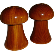 The 1982 Worlds Fair Mushroom Salt and Pepper Shakers