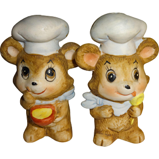Chef Mice Salt and Pepper Shakers