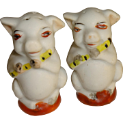 Musical Pigs Salt and Pepper Shakers