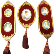 Early 20th Century Collection of Miniature Portraits