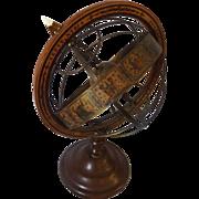 Mid-Century Italian Astral Old World Globe