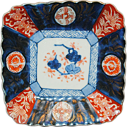 Early 20th Century Japanese Imari Sushi Plate
