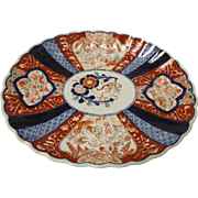 Japanese Early Meiji Period Imari Platter