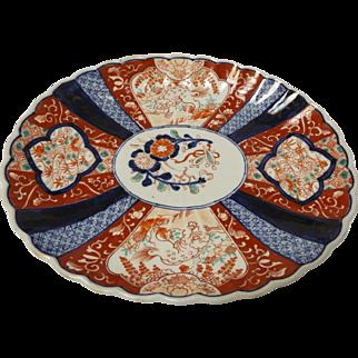 Japanese Early Meiji Period Imari Platter