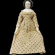 """Vintage Porcelain 12"""" China Doll"""