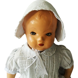 1939 Horsman Composition Precious Baby Doll