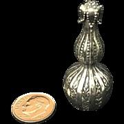 Vintage Lebkeucher & Co. Sterling Silver Snuff Bottle