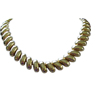 Classic Style Bright Gold Tone Necklace ~ REDUCED!