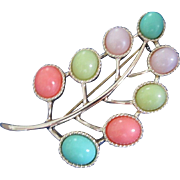 Sarah Coventry Pastel Colored Pin