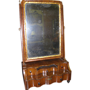 18th Century Queen Ann Shaving Mirror