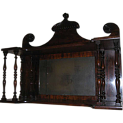 Chippendale Style Hanging Wall Shelf