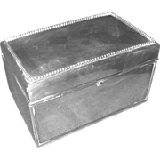 Black,Starr and Frost Sterling Silver Cigarette Box
