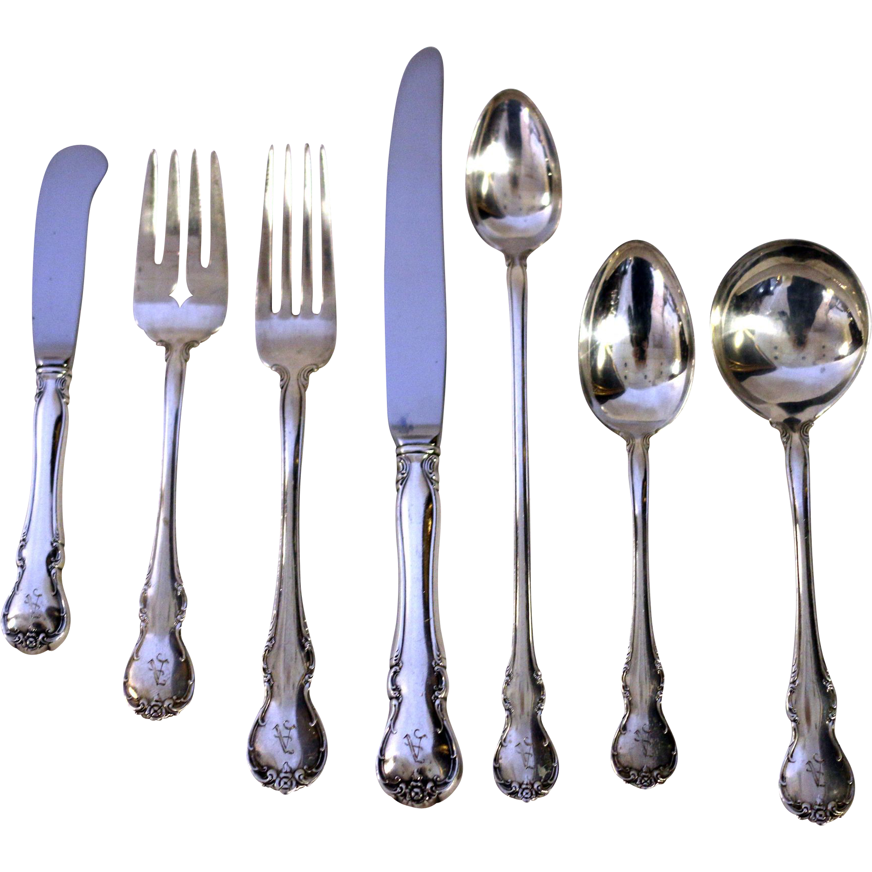 French provential by towle flatware set from savannahgalleries on ruby lane - Unusual flatware sets ...