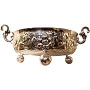 Art Nouveau English Sterling Silver Bowl
