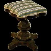 19th c. Rosewood Piano Stool