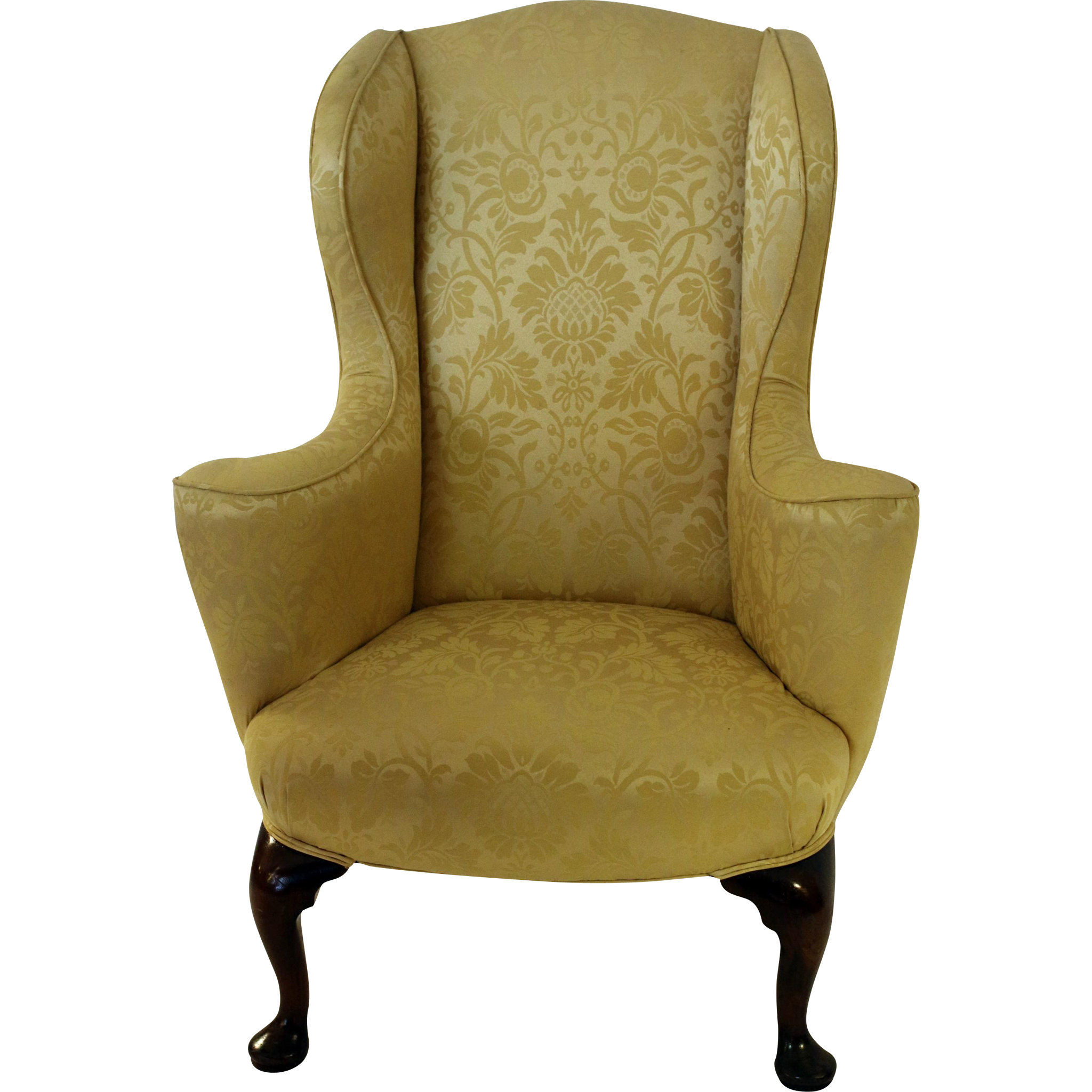 18th Century English Wingback Chair from savannahgalleries on Ruby